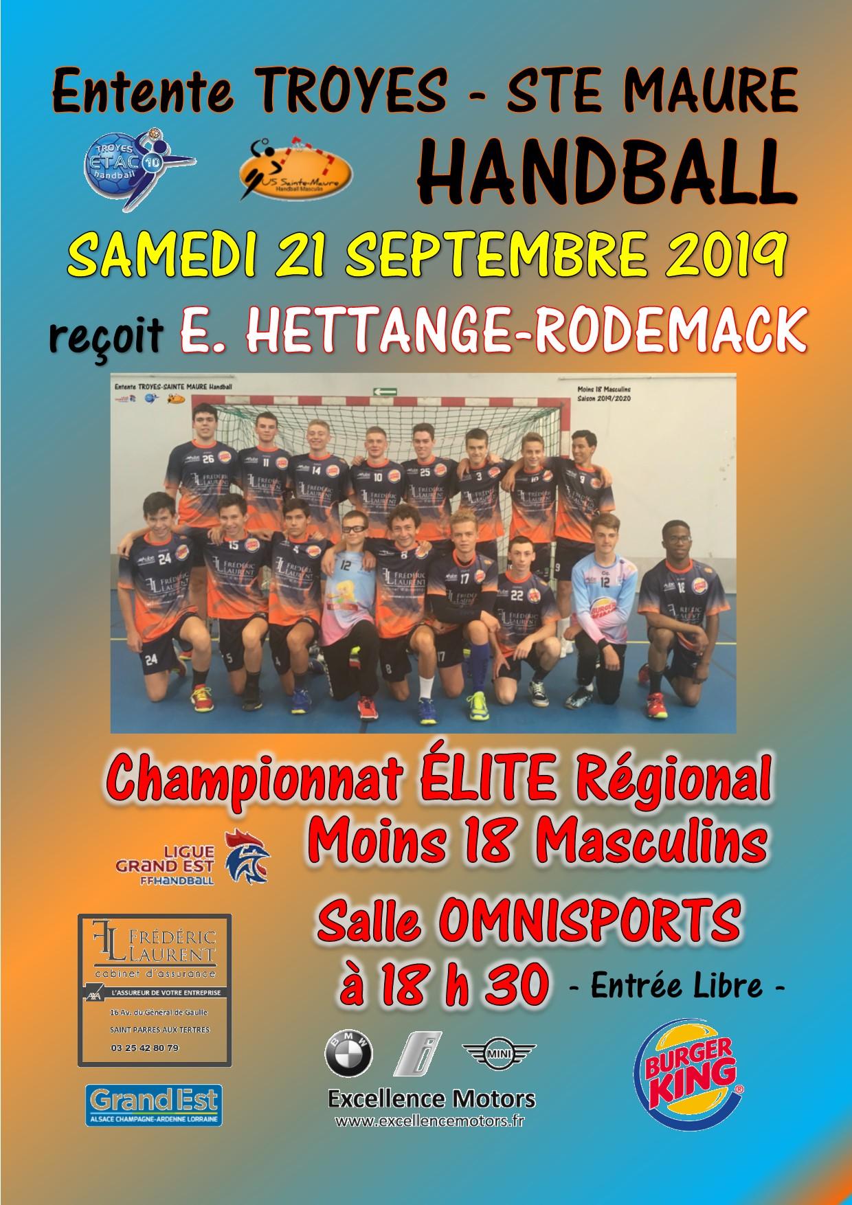 Salle Omnisports - Samedi 21 septembre 2019